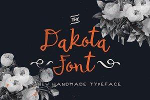 Dakota Font + Bonus