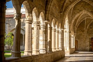 Santander Cathedral, cloister