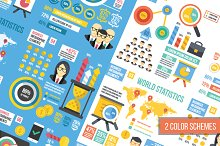 Infographics Elements Sets. 12 in 1.