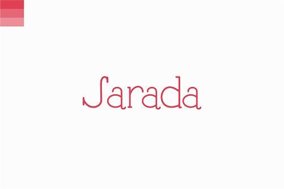 Sarada Font