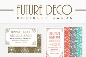 FutureDeco Business Cards