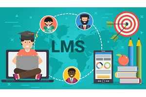 Banner - concept of LMS