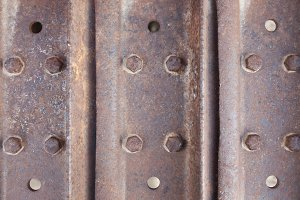 Abstract Rusty Vintage Metal Surface