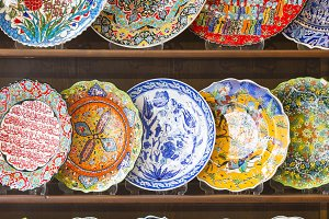 Beautiful Hand Painted Turkish Plate