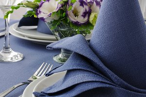 Fragment table setting
