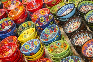 Beautiful Hand Painted Turkish Bowls