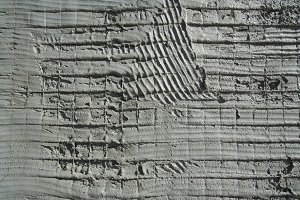 Abstract Cement Wall Preparation