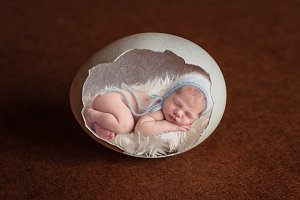 Easter Newborn Digital Backdrop