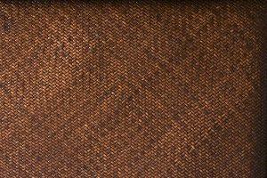 Rattan Weave Background Macro Image
