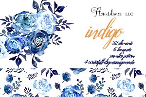 Indigo Blue Design Collection