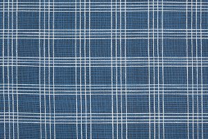 Cotton Blue and White Striped Cloth