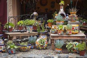 Colorful Shop of Decorative Ceramics