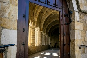 Santander Cathedral, cloister door