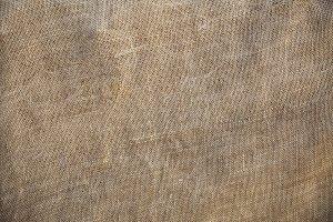 Rustic Old Fabric Burlap Texture