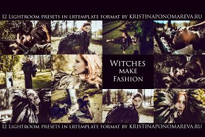 Witches make Fashion-12 Lr Presets