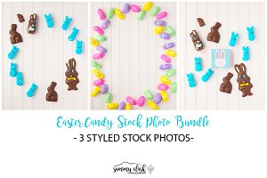 Easter Candy Stock Photo Bundle