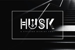 Husk | Display Font