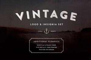 Vintage Logo & Insignia Starter Kit