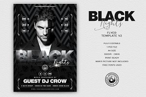 Black Nights Flyer Template V2