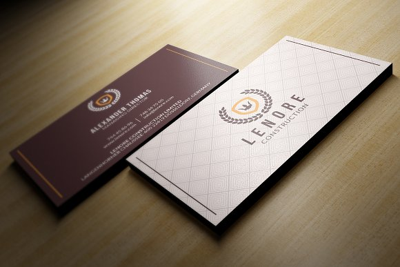 Classy Business Card Business Card Templates Creative Market