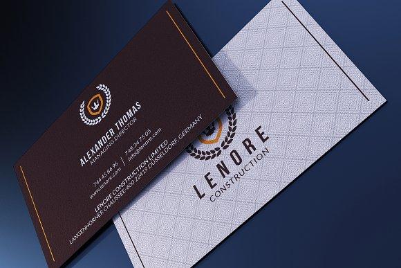 Classy business card business card templates creative market colourmoves
