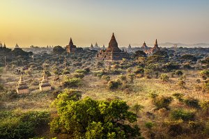 Morning in Bagan, Myanmar