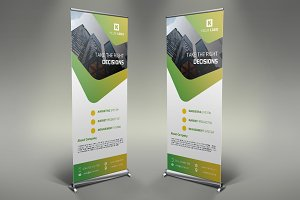 Corporate Roll Up Banner #097