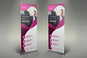 Business Roll Up Banner #104