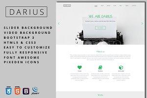 Darius - Agency & Portfolio Template