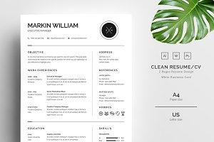 Minimalism Resume/CV