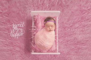 Newborn Digital Backdrop for Girls