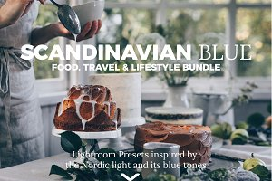Scandinavian Blue Lightroom Presets
