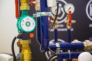 Pumping equipment, manometers , appliances