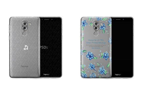 Huawei Honor 6X UV TPU Clear Case