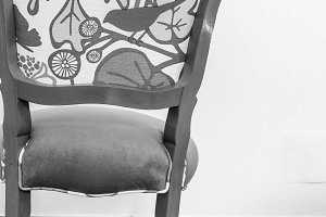 Retro Vintage Chair Detail