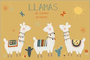 Llama set