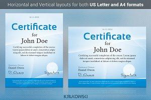 Simple Certificate Template