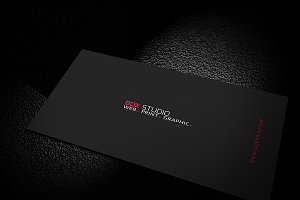 Black & Corporate Business Card