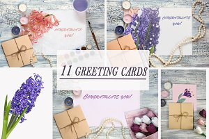 Greeting Card Mockups