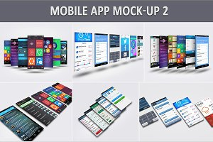 Mobile App Mock-Up 2