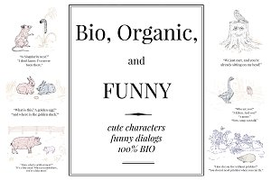 Bio, Organic, and Funny Vol.1