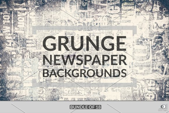 Grunge Newspaper Bundle