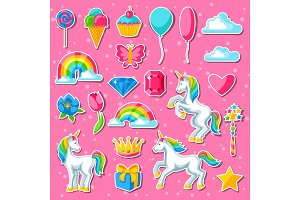 Collection of unicorns and fantasy decorative objects