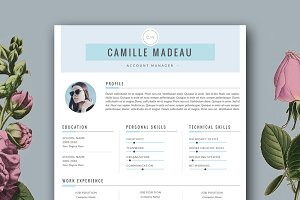 Clean Resume for MS Word & Pages