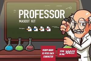 Professor Mascot Kit