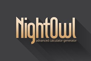 NightOwl - Calculator Generator