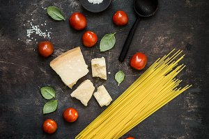 From above ingredients for pasta