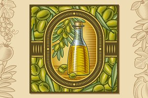 Olive Oil Harvest Design