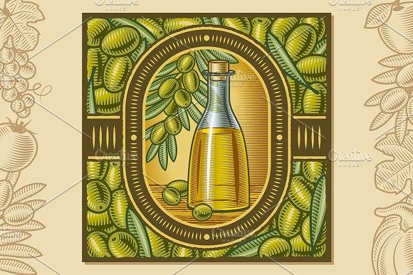 Olive Oil Harvest Design