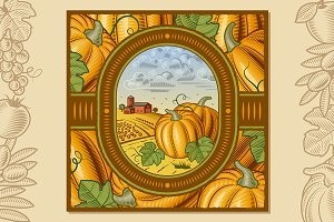 Pumpkin Harvest Design